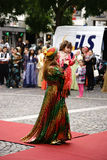Kurdish women's costume Royalty Free Stock Image
