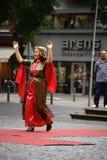 Kurdish women's costume Stock Image