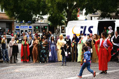 Kurdish women's costumes Stock Images