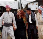 Kurdistan Dancers. At Edmonton Alberta Heritage Day Celebration August 4. 2014 Stock Images