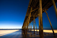 Kure Beach Pier Stock Photography