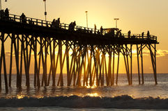 Kure Beach Pier stock photos