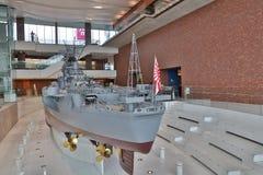 At Kure, Japan. Yamato Maritime Museum stock photo