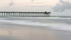 Kure strand, North Carolina arkivbild