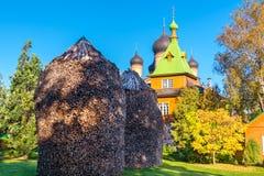 Kuremae Dormition女修道院 爱沙尼亚 免版税图库摄影