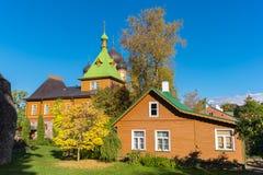 Kuremae Dormition女修道院 爱沙尼亚 库存图片