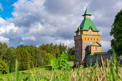 Kuremae Dormition女修道院 爱沙尼亚 免版税库存照片