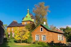 Kuremae Dormition Convent. Estonia Stock Images