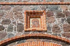 Kuremae l'Estonie Mère d'icône de Dieu Images libres de droits