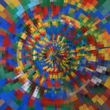 kurenda abstrakcjonistyczny wzór Zdjęcia Stock