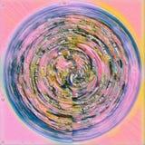 kurenda abstrakcjonistyczny wzór Obrazy Royalty Free