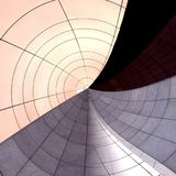 kurenda abstrakcjonistyczny wzór Obraz Stock