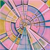 kurenda abstrakcjonistyczny wzór Zdjęcie Stock
