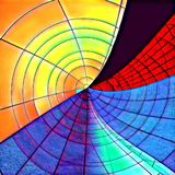 kurenda abstrakcjonistyczny wzór Zdjęcie Royalty Free