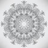 kurenda abstrakcjonistyczny wzór Ilustracja Wektor