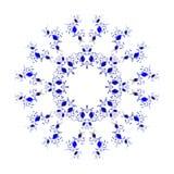 kurenda abstrakcjonistyczny wzór royalty ilustracja