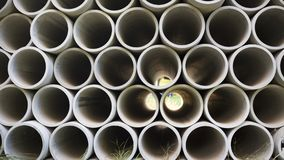 Kurenda betonu drymba Dla budowy obraz stock