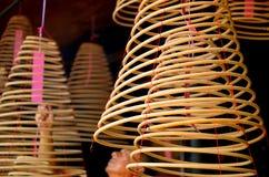 Kurenda kadzi w Chińskiej świątyni zdjęcie stock