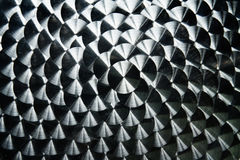 Kurenda stalowy wzór obrazy stock