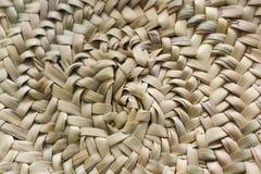 Kurenda wyplatający słomiany tło w beżu i piaska kolorach obraz royalty free