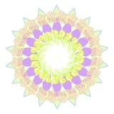 Kurenda wzór na białym tle illustratoration Zdjęcia Royalty Free