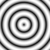 Kurenda wzór z koncentrycznymi okręgami Zatarty pokrywa się circ royalty ilustracja