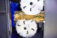 Kurenda zobaczył ostrza dla piłowanie maszyny zdjęcia royalty free