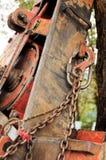 Kurenda zobaczył szczegół Selekcyjna ostrość obrazy royalty free
