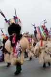 kurent maskering för karneval Arkivbild