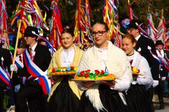 Kurentovanje 2018, Ptuj, Slovenia Royalty Free Stock Photo