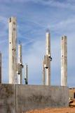 kurerad betong Royaltyfri Foto