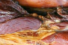 Kurerat kött royaltyfria foton