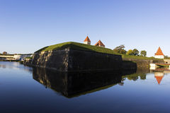 Kuressaare Castle in Estonia Royalty Free Stock Image