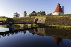 Kuressaare Castle in Estonia Stock Images