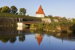 Kuressaare Castle in Estonia Stock Image
