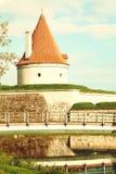 Kuressaare castle, Saaremaa island, Estonia Stock Image