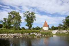 Kuressaare Castle Royalty Free Stock Photo