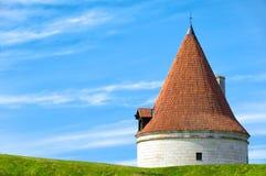 Kuressaare castle tower Stock Photography