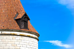 Kuressaare castle tower Stock Photo