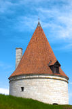 Kuressaare castle tower Royalty Free Stock Images