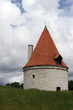 Kuressaare Episcopal Castle Tower Royalty Free Stock Images