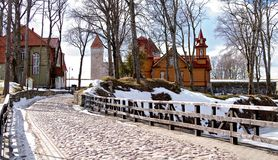 Kuressaare castle Stock Images
