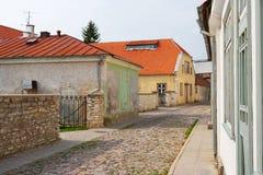 Kuressaare. Saaremaa Insel. Estland Lizenzfreies Stockfoto