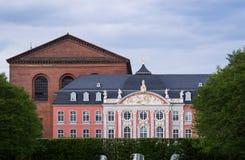 KurfÃ-¼ rstliches Palais-Trier Lizenzfreie Stockbilder