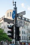 Kurfürstendamm. The Kurfürstendamm is one of the most famous avenues in Berlin Stock Photo