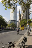 Kurfürstendamm street in Berlin Stock Image