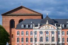Kurfürstliches Palais Trier. West Germany Royalty Free Stock Photo