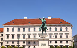 Kurfürst Maximilian in Munich Stock Image