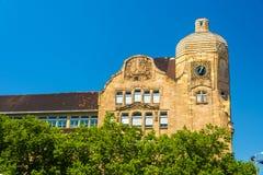 Kurfurst Friedrich school building in Mannheim Stock Photos