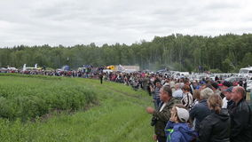 Kurgan, Ρωσία - το Μάιο του 2016: το πλήθος που περιμένει την έναρξη του ανταγωνισμού φιλμ μικρού μήκους